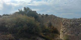 Ashdod strand Arkivfoto