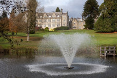 ASHDOWN FOREST, SUSSEX/UK - OCTOBER 29 : Ashdown Park Hotel in t Royalty Free Stock Photography