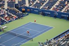 ashe开放体育场网球我们 库存照片