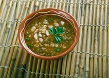 Ashe Berenj. Rice Persian soup royalty free stock images