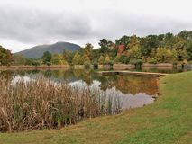 Ashe County Park in Jefferson, Noord-Carolina royalty-vrije stock foto