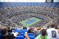 ashe otwarty stadium tenis my fotografia royalty free