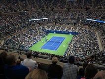 Ashe Stadium - tenis del US Open imagen de archivo