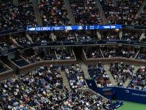 Ashe stadium - us open tenis zdjęcia royalty free