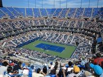 Ashe stadium - us open tenis zdjęcie stock