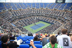 Ashe Stadium - US Open Tennis Royalty Free Stock Photography