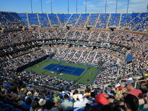 Ashe Stadium - US Open Tennis Stock Photo