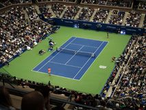 Ashe Stadium - US Open Tennis Royalty Free Stock Images