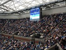 Ashe Stadium - US Opentennis royaltyfri fotografi