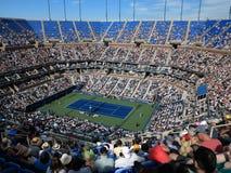 Ashe Stadium - US Opentennis Arkivfoto