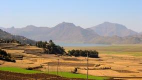 Ashenge湖,埃塞俄比亚 库存图片