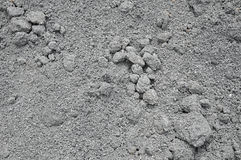 Ashes. From stones and asphalt Stock Photo