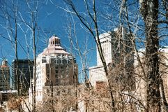 Asheville City Hall royalty free stock photo