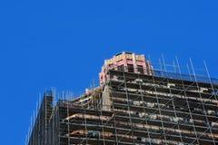 Asheville City Hall Restoration Stock Photo