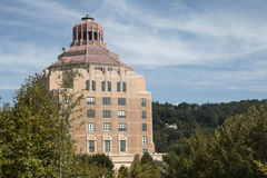 Asheville, het Noorden Carolina City Hall royalty-vrije stock fotografie