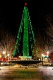 Asheville Kerstmis royalty-vrije stock foto