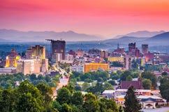 Asheville, Noord-Carolina, de V.S. royalty-vrije stock foto's
