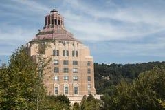 Asheville norr Carolina City Hall Royaltyfri Fotografi