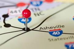 Asheville north carolina pin stock image