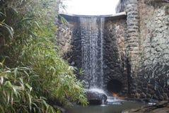 Asheville North Carolina vattenfall Arkivfoton