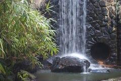 Asheville North Carolina vattenfall Fotografering för Bildbyråer