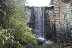 Asheville, North Carolina waterfall Stock Photos