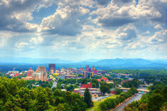 Asheville-Skyline stockbilder