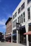 Asheville van de binnenstad Stock Afbeelding