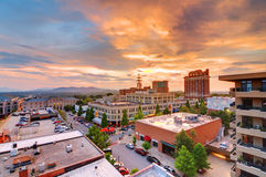 Asheville van de binnenstad Royalty-vrije Stock Fotografie