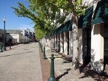 Asheville van de binnenstad, Noord-Carolina stock foto