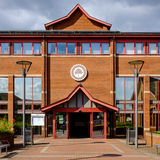 Ashfield District Council offices, Kirkby In Ashfield Stock Image