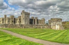 中世纪ashford的城堡 库存图片