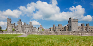 Ashford Castle. 13th Century Ashford Castle currently a 5 star luxury hotel, Ireland Stock Image