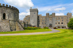 Ashford castle back entrance and tower Stock Photography