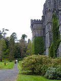 Ashford Castle, Cong, Ireland. Ashford Castle is a medieval and Victorian castle that has been expanded over the centuries and turned into a five star luxury Royalty Free Stock Photos