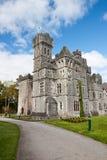 Ashford castle in Ireland. Royalty Free Stock Photo