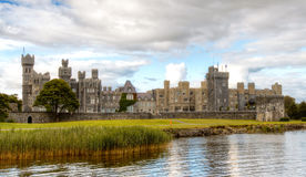 Ashford Castle, Leaf Island, Cong, Co. Mayo, Ireland. Ashford Castle is a medieval castle that has been expanded over the centuries and turned into a five star Royalty Free Stock Photo
