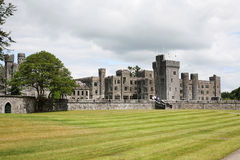 Ashford Castle. On the shores of lough Corrib West of Ireland Stock Photography