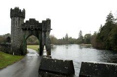 Ashford kasztel Co. Mayo, Irlandia, - Obrazy Royalty Free