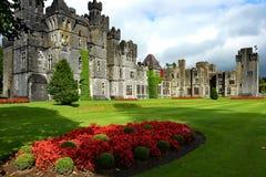 Ashford slott Irland Arkivfoto