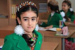 Ashgabad,土库曼斯坦- 2014年11月4日 unknow的画象 图库摄影