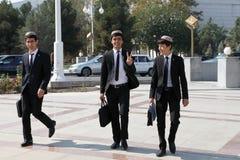 Ashgabad, Turkménistan - 10 octobre 2014 Groupe de St gai Photo stock