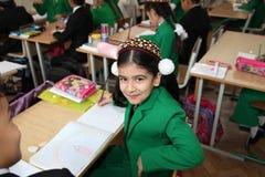 Ashgabad, Turkmenistan - November 4, 2014. Portrait of an unknow Royalty Free Stock Photo