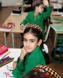 Ashgabad, Turkmenistan - November 4, 2014. Portrait of an unknow Royalty Free Stock Image