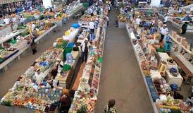 Ashgabad, Turkmenistan - October 10, 2014. Farmers Market royalty free stock photo