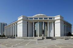 Ashgabat, Τουρκμενιστάν - 15 Οκτωβρίου 2014: Σύγχρονη αρχιτεκτονική ο Στοκ εικόνα με δικαίωμα ελεύθερης χρήσης