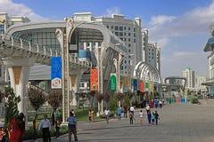 Ashgabat, Τουρκμενιστάν - 26 Σεπτεμβρίου 2017: Μέρος του αθλητισμού Στοκ Εικόνες