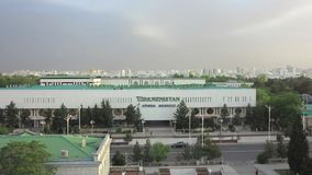 Ashgabat Τουρκμενιστάν Sowda Merkezi απόθεμα βίντεο