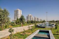 Ashgabat. Glamorous capital city Ashgabat in Turkmenistan royalty free stock photography