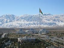 Ashgabat Nationaal Museum van Geschiedenis stock foto's